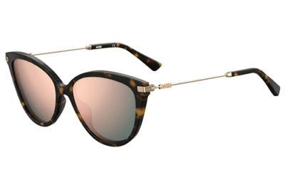 Moschino Mos067/s 086/IR DARK HAVANA 60 Women's Sunglasses