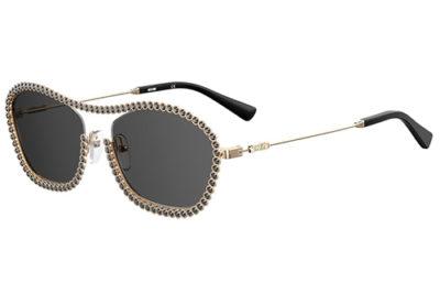 Moschino Mos071/s J5G/IR GOLD 54 Women's Sunglasses
