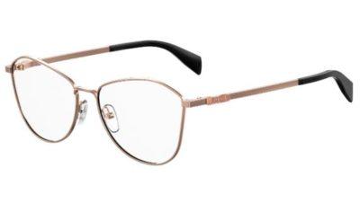Moschino Mos520 DDB/15 GOLD COPPER 55 Women's Eyeglasses