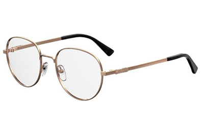 Moschino Mos533 DDB/19 GOLD COPPER 51 Women's Eyeglasses