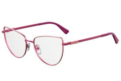 Moschino Mos534 QHO/17 CYCLAMEN 55 Women's Eyeglasses