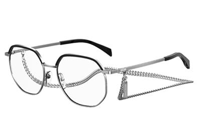 Moschino Mos542 010/17 PALLADIUM 53 Women's Eyeglasses