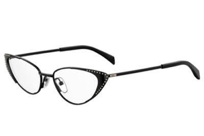 Moschino Mos545 807/17 BLACK 52 Women's Eyeglasses