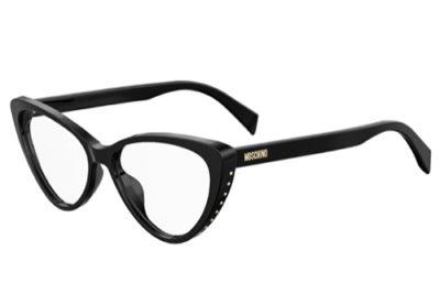 Moschino Mos551 807/15 BLACK 53 Women's Eyeglasses