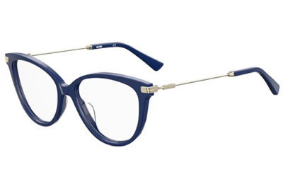 Moschino Mos561 PJP/16 BLUE 52 Women's Eyeglasses