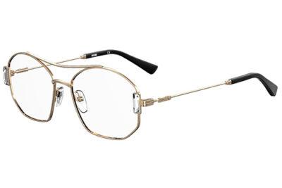 Moschino Mos563 J5G/16 GOLD 53 Women's Eyeglasses