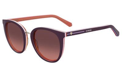 Moschino Love Mol016/s 0T7/N4 PLUM 51 Women's Sunglasses