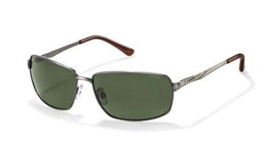 Polaroid P4412 B9W/RC GUN 62 Men's Sunglasses