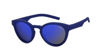 Polaroid Pld 7021/s PJP/5X BLUE 49 Unisex Sunglasses