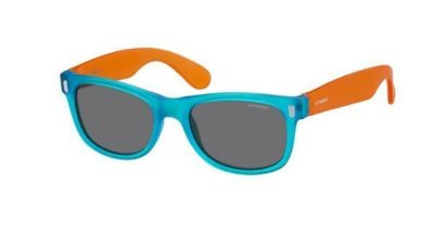 Polaroid P0115 89T/Y2 BLUE ORANGE 46 Unisex Sunglasses