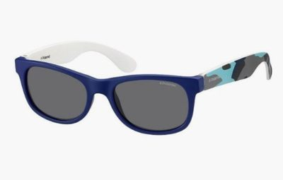 Polaroid P0300 T6D/Y2 BLUE CAMUBLU 43 Kids Sunglasses