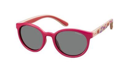 Polaroid Pld 8014/s MBT/AI FUCHSIA PINK 46 Kids Sunglasses