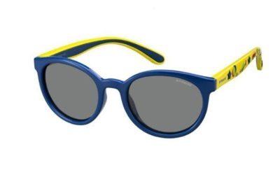Polaroid Pld 8014/s MC1/JY BLUE YELLOW 46 Kids Sunglasses