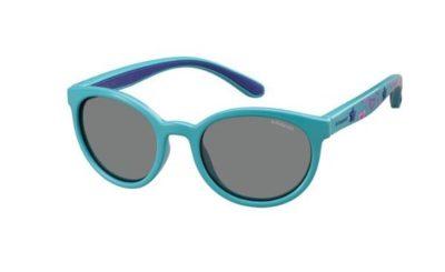 Polaroid Pld 8014/s NE7/MF TURQUOISE 46 Kids Sunglasses