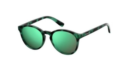 Polaroid Pld 8024/s PHW/5Z HAVANA GREEN 47 Unisex Sunglasses
