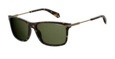Polaroid Pld 2063/s N9P/UC MATT HAVANA 58 Men's Sunglasses