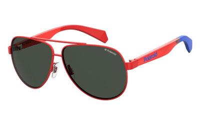 Polaroid Pld 8034/s C9A/M9 RED 55 Unisex Sunglasses