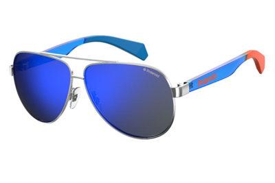 Polaroid Pld 8034/s PJP/5X BLUE 55 Unisex Sunglasses