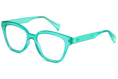 Pop Line IV042.036.GLT aquagreen glitter matte 50 Eyeglasses