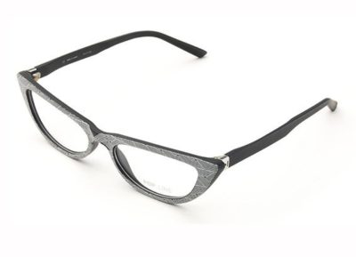 Pop Line IV056.TWI.009 gradient twist black and 53 Eyeglasses