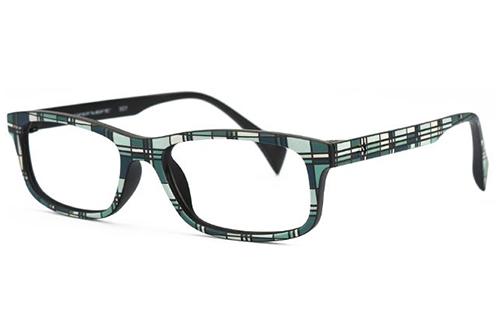 Pop Line IVB002.TR2.036 tartan new aqua green 48 Eyeglasses