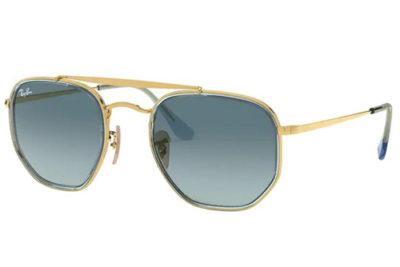 Ray-Ban 3648M 91233M 52 Unisex Sunglasses