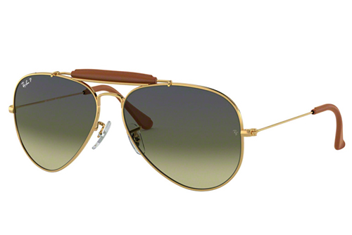 Ray-Ban 3422Q 001/M9 58 Men's Sunglasses