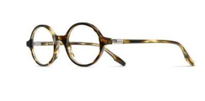 Safilo Buratto 01 KVI/21 STRIPED BRWN 47 Men's Eyeglasses