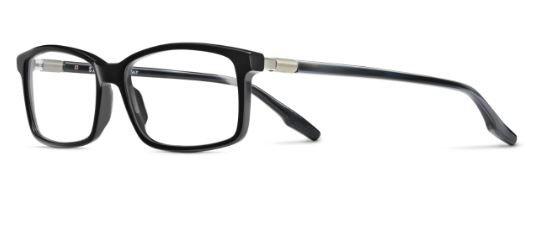 Safilo Lastra 02 807/16 BLACK 54 Men's Eyeglasses