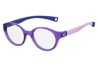 Safilo Sa 0008 B3V/17 VIOLET 43 Kids Eyeglasses