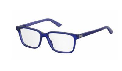 Safilo Sa 1074 CZ2/16 BLUE AZURE 53 Men's Eyeglasses