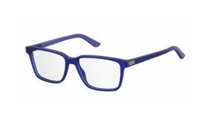 Safilo Sa 1074 CZ2/16 BLUE AZURE 55 Men's Eyeglasses