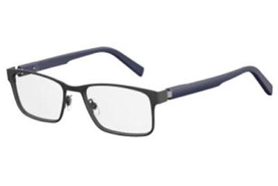 Safilo Sa 1082 13L/18 MTGREY BLUE 55 Men's Eyeglasses