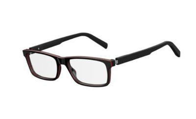 Safilo Sa 1089 OIT/17 BLCK RED GLD 56 Men's Eyeglasses