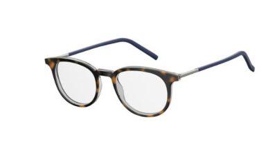 Safilo Sa 1090 3MA/20 HAVAN RUTHEN 49 Men's Eyeglasses