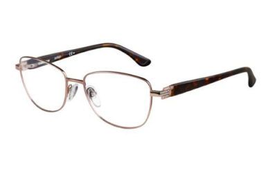 Safilo Sa 6011 4IO/17 LTBRW DKHVNA 52 Women's Eyeglasses