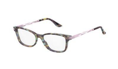 Safilo Sa 6049 Y9F/16 TURQHVNA PNK 50 Women's Eyeglasses
