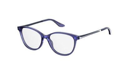 Safilo Sa 6058 PJP/16 BLUE 53 Women's Eyeglasses