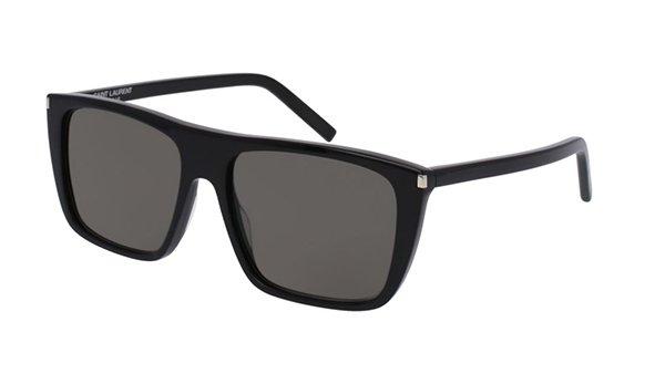 Yves Saint Laurent SL 156 black 56 Men's Sunglasses