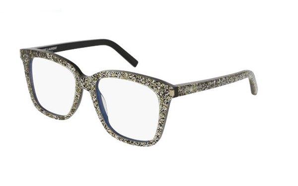 Yves Saint Laurent SL 166 silver 51 Women's Eyeglasses