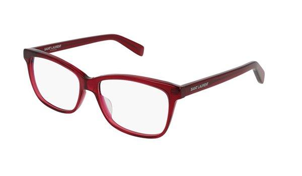 Yves Saint Laurent SL 170 burgundy 54 Unisex Eyeglasses