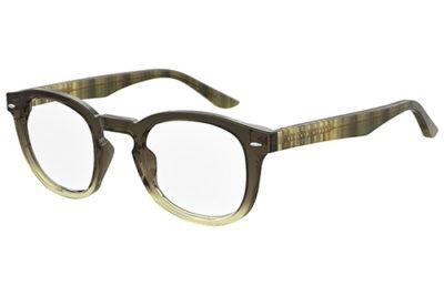 Seventh Street 7a 049 GTT/23 KHAKI GREEN 49 Men's Eyeglasses