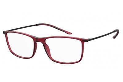 Seventh Street 7a 054 0A4/17 RED BLACK 56 Men's Eyeglasses