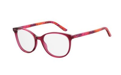Seventh Street 7a 507 QQ7/18 PKPTTRN MULT 54 Women's Eyeglasses