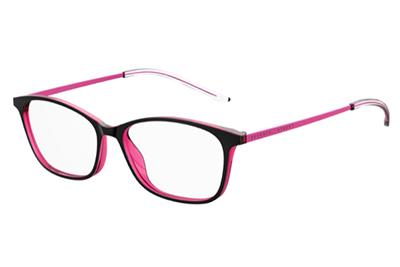 Seventh Street 7a 537 3MR/15 BLK BLKFUCHS 53 Women's Eyeglasses