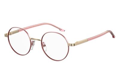 Seventh Street S 296 S45/19 PINK GOLD 46 Unisex Eyeglasses