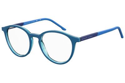 Seventh Street S 302 ZX9/18 BLUE AZURE 48 Men's Eyeglasses