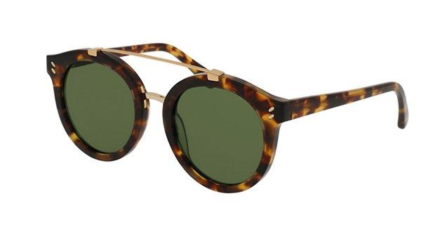Stella Mccartney SC0054S avana 50 Women's Sunglasses