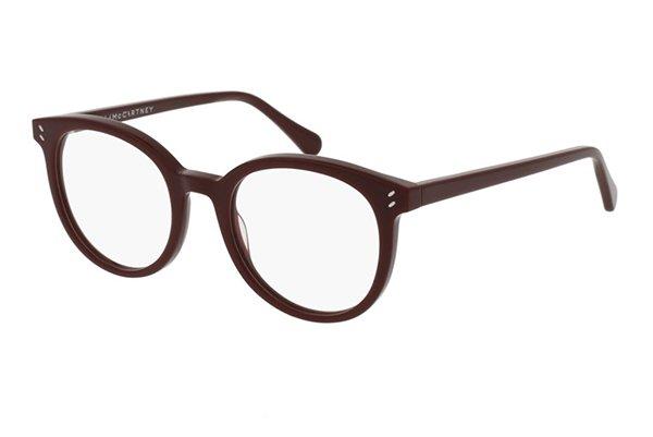 Stella Mccartney SC0081O burgundy 49 Women's Eyeglasses