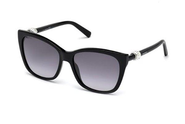 Swarovski SK0129 01B 58 Sunglasses